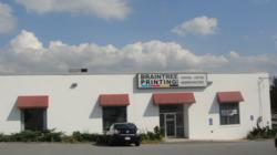 Braintree Printing's plant on Wood Road in Braintree, Massachusetts.