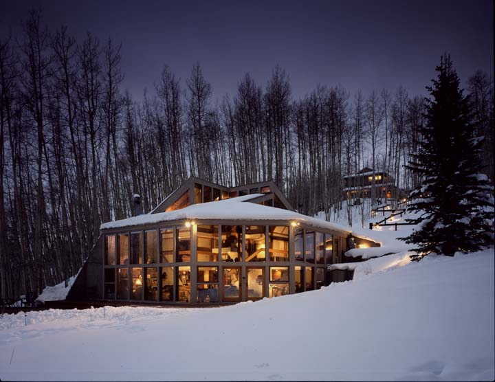 Home In The Mountains passive solar home built into the mountain. yes please. | homes