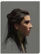 Digital portrait painted by professional artist David Kassan, painted exclusively using the Nomad Brush
