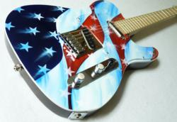 This Halo Custom Guitar was Recently Built to Order for a Customer