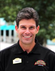 Wild Adventures Vice President and General Manager, Greg Charbeneau
