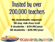 Trusted by Over 200,000 Teachers!