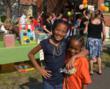 Children enjoying Eva's Summer Carnival - 2011