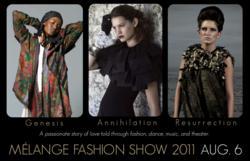 Melange Fashion Show San Francisco Embracing and celebrating
