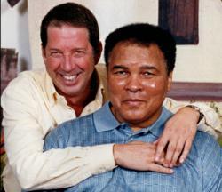 Muhammad Ali (Champion) & Yank Barry (Founder)