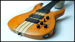 Halo MIDI Guitar with Piezo Pickups