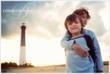 NJ Beach Photographer - LBI - Christine DeSavino - Two Brothers Embrace at Barnegat Lighthouse