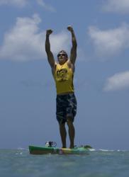 Molokai 2 Oahu Paddleboard World Championship Jamie Mitchell