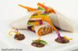 Vegetable Coconut Wraps with Tamarind Sauce