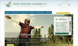 New Law Firm Web Design for LLW-Law.com