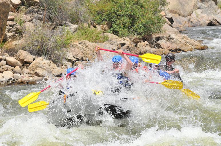 Colorado Whitewater Rafting Runs Through Labor Day
