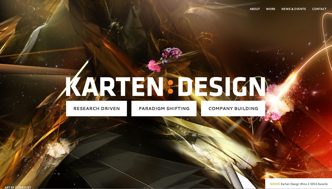 Karten Design Unveils New Identity Website