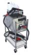 The AmeriVap Blitzer with available Cart