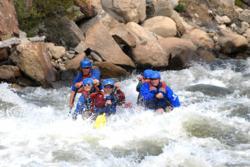 Arkansas River Rafting in Colorado.
