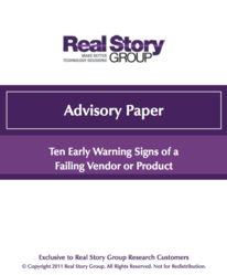 Ten Early Warning Signs Advisory Paper Download