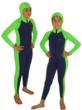 girls and boys full body stinger suit with hood