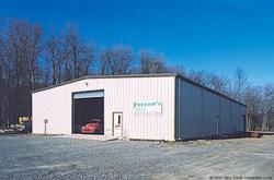 Olympia steel buildings of canada supplies prefab metal for Prefabricated garages ontario