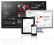 Klipfolio Dashboard for the web and mobile devices