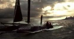 New Zealand yachting news network TVNZ presents the NZ America's Cup Boat.