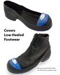 Steel Toe Covers Low-Heeled Footwear