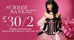 10a25e681a Thesexylingerie.co.uk Launches Summer Bank Holiday Sale on Sexy ...