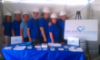 "Volunteers at the Karla Smith Foundation Tent at ""Extreme Makeover: Home Edition"""