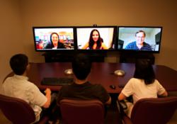 VSee HD Telepresence Conference Room