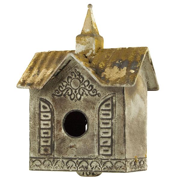 World Buyers Garden Decorgarden Decor Bird House Stake