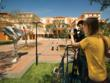 Ringling College Digital Film Students shooting on Ringling Campus