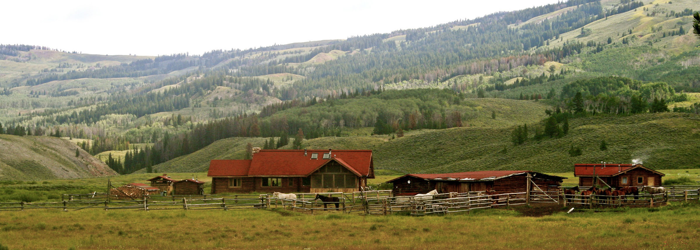 Jackson Wyoming Ranch In Gros Ventre Wilderness Goes To