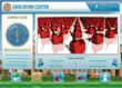 Application provides education about resource consumption.