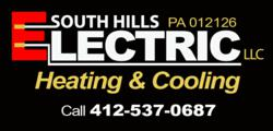 South Hills Electric Heating Cooling 930 Glass Run Rd Pittsburgh PA 15236 (412) 537-0687