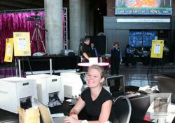 Onsite Printing Station for T-Mobile at Ford Field in Detroit, MI