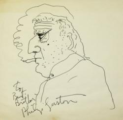 Philip Guston, 1970, Self-portrait