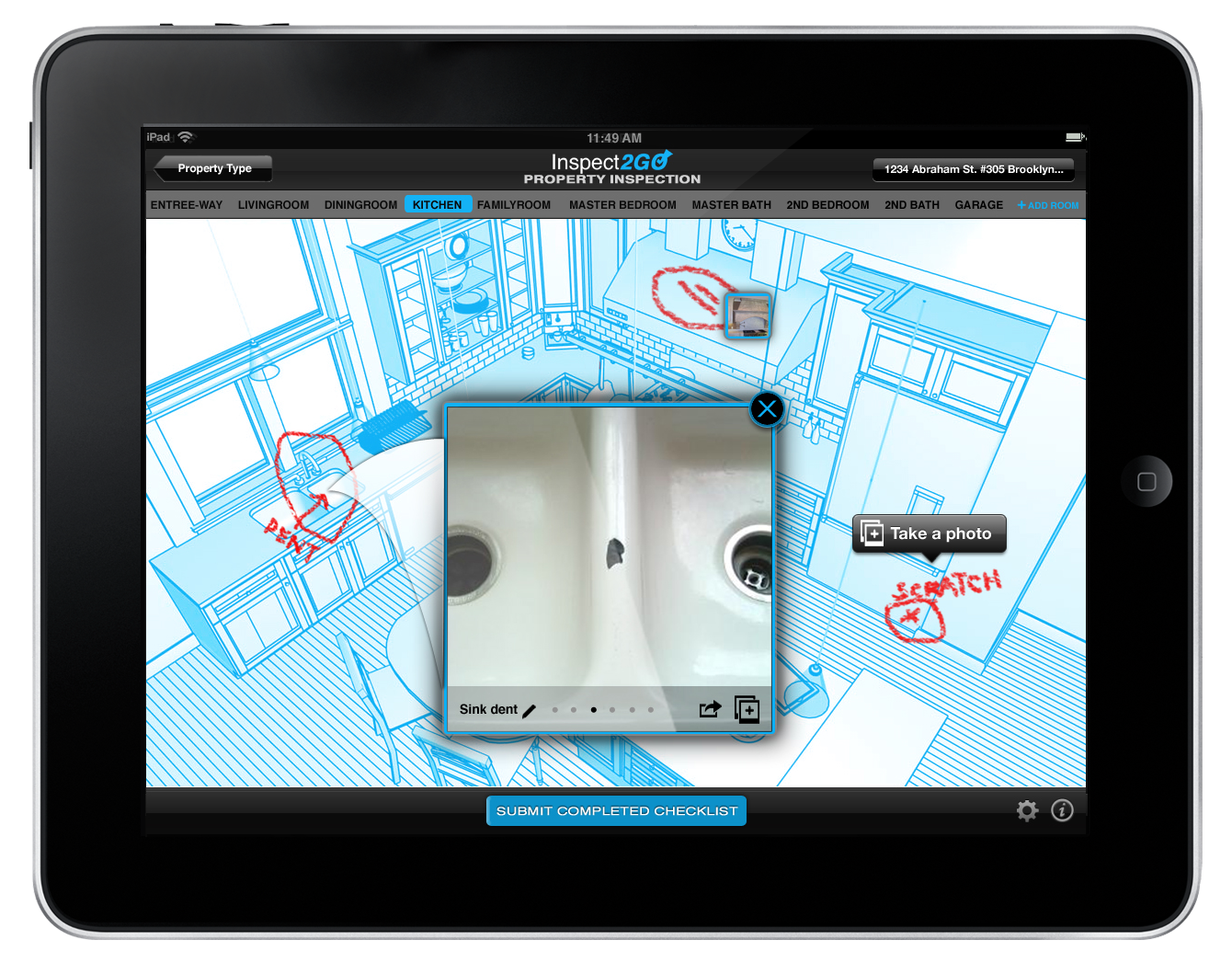 Inspect2go launches property inspection checklist apps on for House construction app