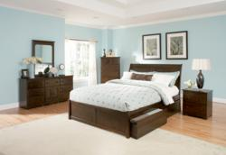 Atlantic Furniture Storage Bed