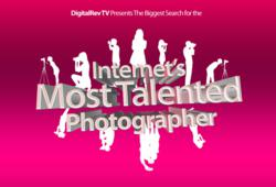 Internet's Most Talented Photographer Theme Logo