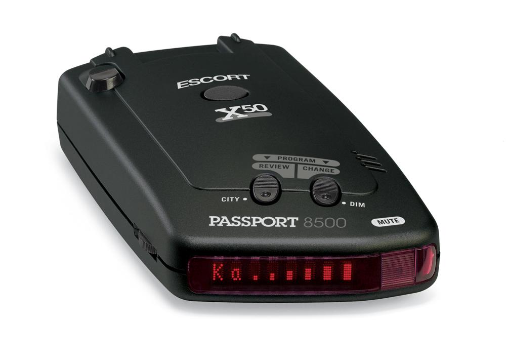 ESCORT Releases PASSPORT 8500 X50™ Black Radar Detector ...