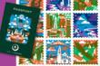 Hostelling International - West Coast Passport. Art by Michael Wertz. Design by Charette.