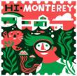 HI-Monterey Passport Stamp. Art by Michael Wertz. Design by Charette.