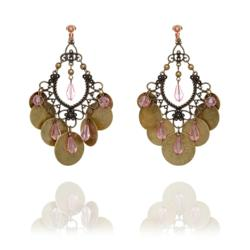 A large statement clip on earring from the range available at Make Me Beautiful