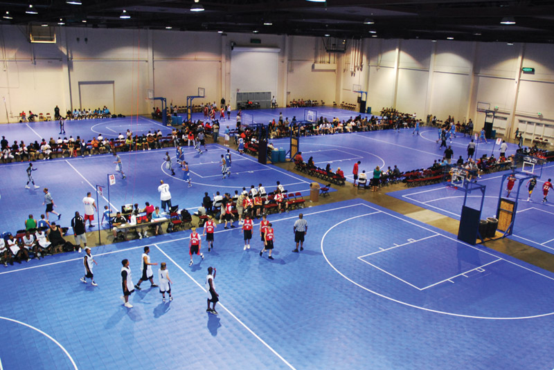 Snapsports 174 Named Official Basketball Surfacing For Aau
