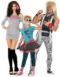 80s Costumes for men, women and kids.