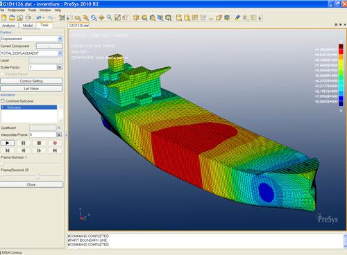 Presys finite element modeling fe for alibre design for Finite elemente modell