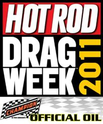 Official Oil Sponsor of Hot Rod Magazine's Drag Week