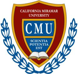California Miramar University School of Business and Management San Diego, CA