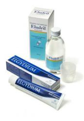 Eludril and Elgydium both contain chlorhexidine, the recognised gold standard gum disease treatment