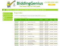 biddinggenius launches subscription based online marketing service