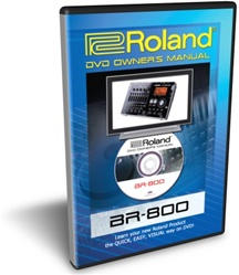 Boss BR-800 Training DVD Tutorial Manual Review
