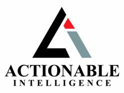 Actionable Intelligence logo, digital imaging, market research